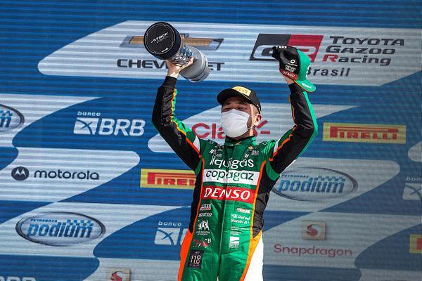 Piloto da Full Time Bassani recuperou os pontos da etapa. Foto: Duda Bairros/Divulgação