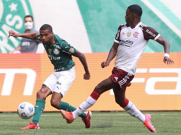 Verdão viu o Flamengo encostar na tabela enquanto o Galo ampliou a vantagem. Foto: Cesar Greco
