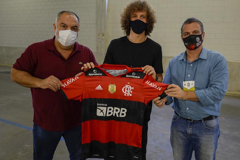 Novo zagueiro flamenguista assinou contrato até dezembro de 2022. Foto: Marcos Cortes/Flamengo
