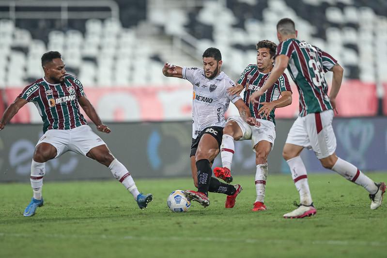 Galo venceu a partida de ida por 2 a 1 e tem a vantagem do empate. Foto: Pedro Souza/Atlético
