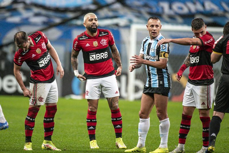 Mengão venceu o jogo de ida por 4 a 0 e pode até poupar titulares no Maracanã. Foto: Alexandre Vidal/Flamengo