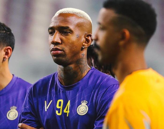 Ex-jogador do Bahia tem 27 anos e está no Al Nassr, da Arábia Saudita. Foto: Instagram/Reprodução