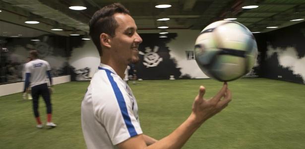 Rodriguinho serve a seleção brasileira até o próximo dia 13. Foto: Daniel Augusto Jr./Agência Corinthians