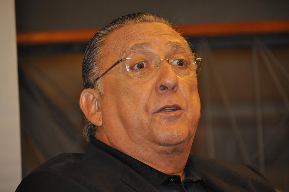 Principal narrador do país atualmente ele já cobriu dez copas do mundo. Foto: Marcos Júnior Micheletti/Portal TT