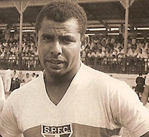 Craque defendeu o Tricolor do Morumbi entre 1954 e 1963. Foto: Reprodução