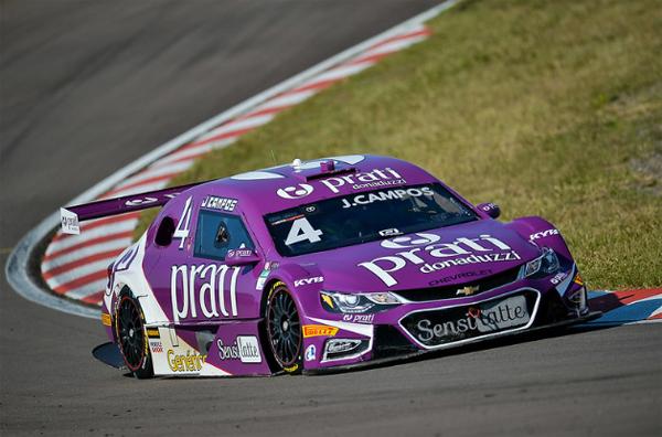 Paranaense largou na pole e dominou a prova no circuito gaúcho. Foto: Stock Car/Divulgação