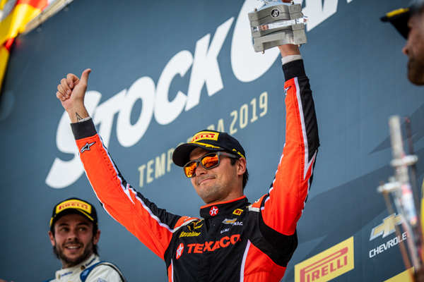 Piloto foi o terceiro colocado na corrida 2. Foto: Divulgação/Full Time Sports