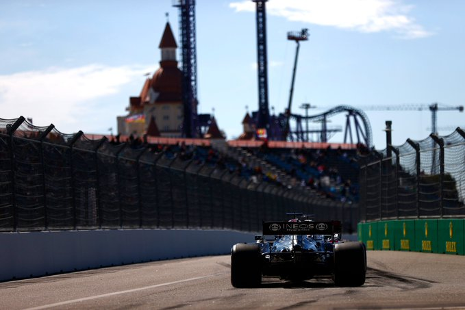 Finlandês foi o mais rápido nas duas sessões. Foto: Mercedes-AMG Petronas F1