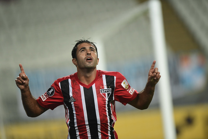 Contratado no início de 2021, Eder tem apenas cinco gols pelo Tricolor. Foto: Staff Images/Conmebol