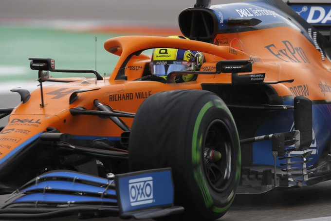 Britânico foi perfeito no final da classificação em Sóchi. Foto: McLarenF1