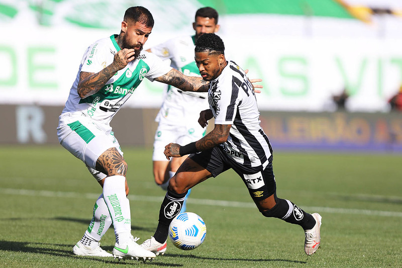 Peixe perdeu para o Juventude e viu suas probabilidades de queda aumentaram. Foto: Ivan Storti/Santos FC