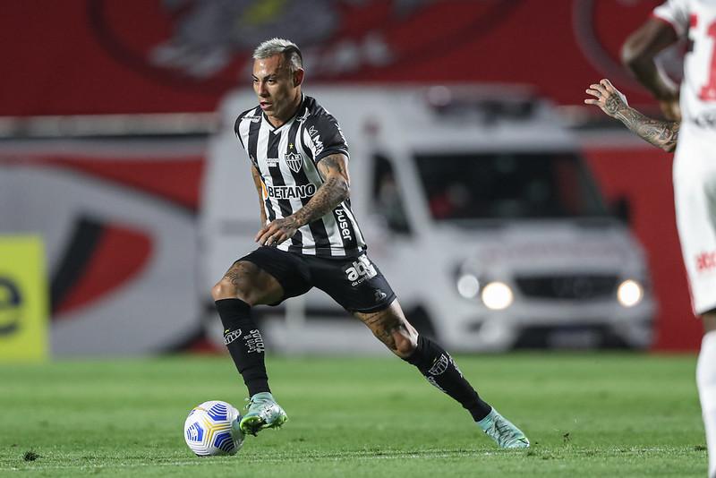 Galo tem hoje mais de 80% de chances de ser campeão. Foto: Pedro Souza/Atlético