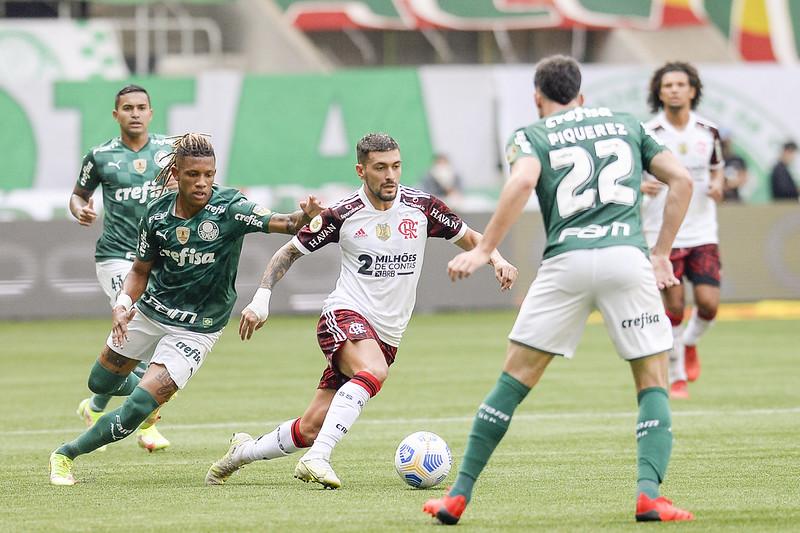 Verdão e Mengo decidem a Libertadores no dia 27 de novembro. Foto: Marcelo Cortes/Flamengo