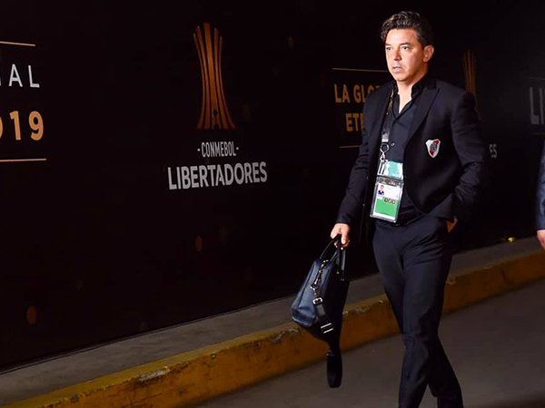 Marcelo Gallardo surge como um possível substituto de Ronald Koeman. Foto: Facebook/Reprodução