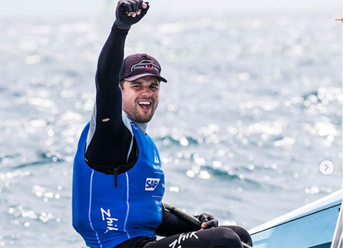 Brasileiro ganhou a regada da medalha, em Marselha, na França. Foto: ISAF