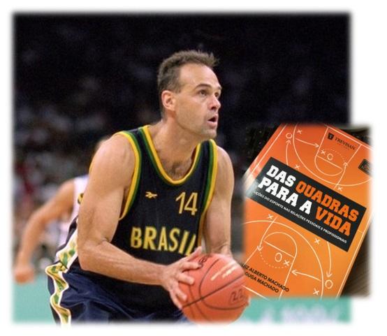 Livro tem prefácio de Oscar Schmidt, ex-jogador de basquete e um dos maiores ídolos do basquetebol brasileiro. Confira!