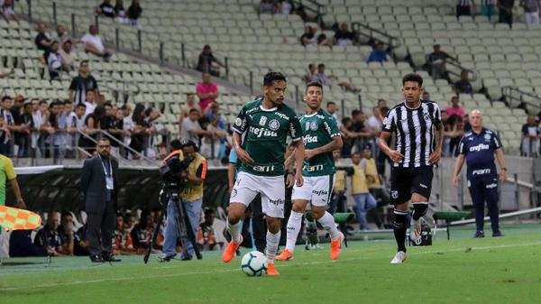 Derrota para o Ceará marcou fim de invencibilidade de 33 jogos no Brasileirão. Foto: Pedro Chaves/AGIF/Via UOL