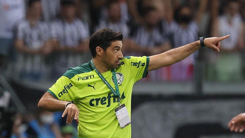 Abel é um estrategista nato e estuda o jogo nos seus pormenores. Foto: Cesar Greco/Ag. Palmeiras