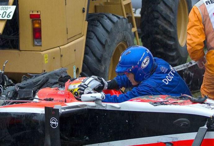Piloto francês da F1 morreu nove meses depois. Foto: Reprodução
