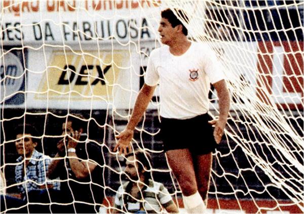 Vaguinho esteve perto de ser o herói do título de 1977. Foto: Ronaldo Kotscho (Revista Placar)
