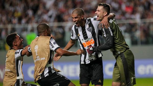 Galo venceu o Unión La Calera na segunda fase da Sul-Americana. Foto: Bruno Cantini/Atlético-MG/Via UOL