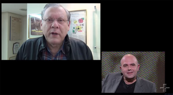 Jornalista falou sobre o amigo no programa `Persona em Foco´