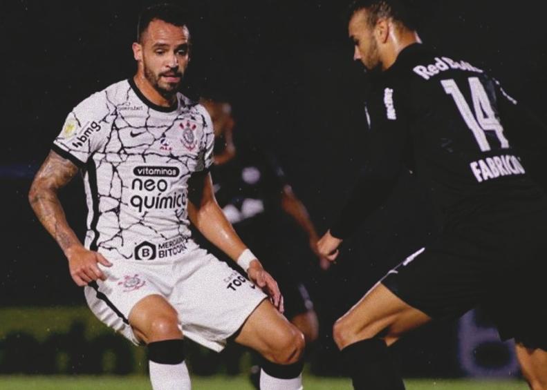 """Meio-campista do Corinthians destacou o """"feeling do gol"""" de Paulinho e Elias. Foto: Rodrigo Coca/Ag Corinthians"""