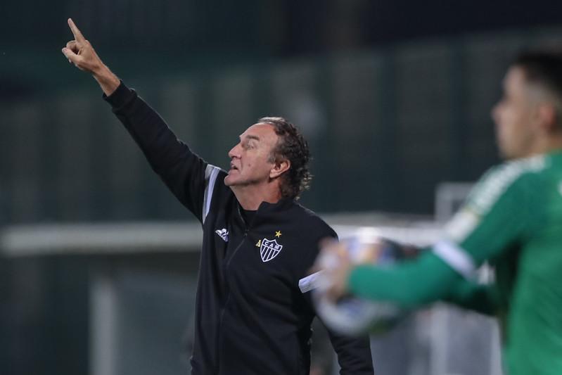 Equipe do técnico Cuca tem 88% de chances de ser campeão brasileiro. Foto: Pedro Souza