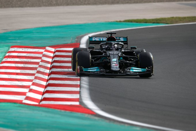 Britânico pagará punição em Istambul. Foto: Mercedes-AMG Petronas F1