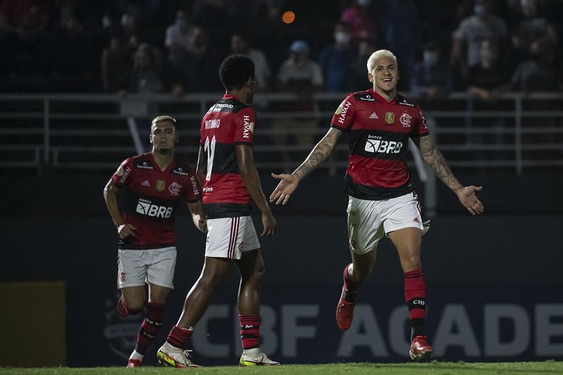 Mengão está há 11 pontos do líder do campeonato. Foto: Alexandre Vidal/Flamengo