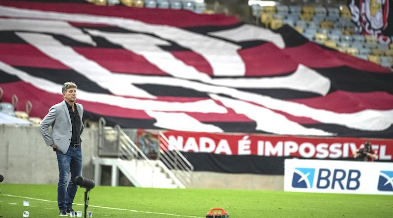 Renato Gaúcho, técnico do Fla. Foto: Alexandre VIdal/Flamengo