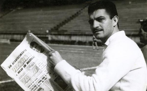 Américo foi Supercampeão Paulista com o Palmeiras em 1959