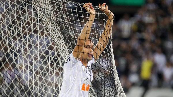 Ricardo Oliveira voltou a passar em branco no triunfo sobre o Botafogo. Foto: Bruno Cantini/Divulgação/Atlético-MG/Via UOL