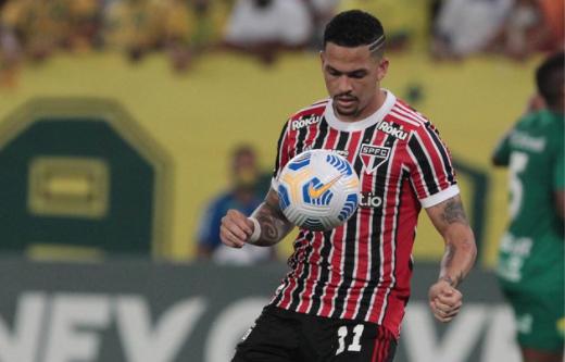 Luciano estará no ataque tricolor nesta noite. Foto: Rubens Chiri/saopaulofc.net