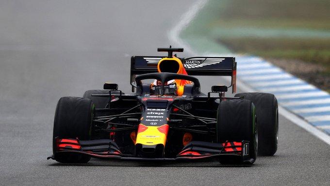 Holandês passou incólume pelas adversidades em Hockenheim. Foto: Red Bull Racing