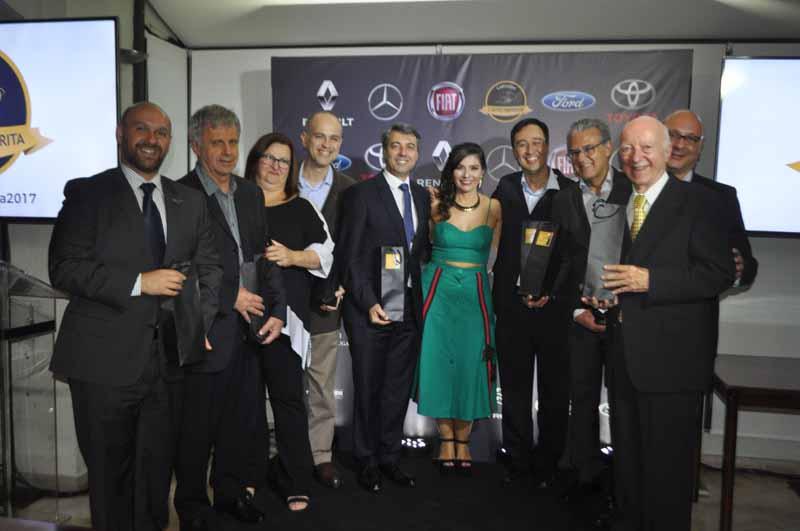 Evento, com a grife Carsughi, premiou as montadoras brasileiras. Foto: Marcos Júnior Micheletti/Portal TT