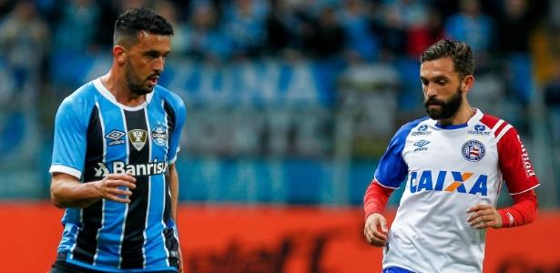 A equipe de Renato Gaúcho chega aos 15 pontos, um atrás do Corinthians