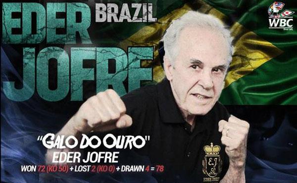 Segundo enquete feita pela entidade, o brasileiro é o maior peso galo de todos os tempos