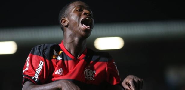 A publicação traz as estatísticas de Vinicius Júnior desde que estreou no time profissional do Flamengo