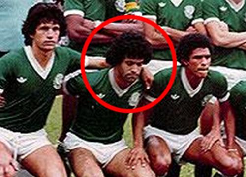 Ele atuou pelo Verdão entre 1980 e 1982