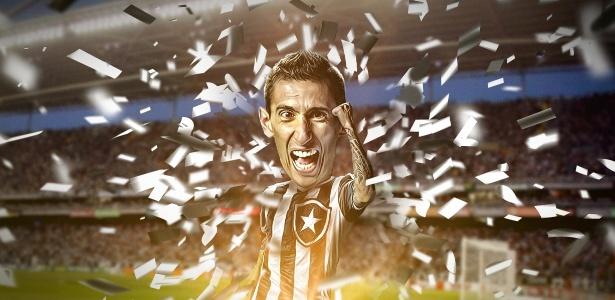 O time argentino pediu 1 milhão de euros e botafoguenses ilustres chegaram a juntar 1,2 milhão de euros