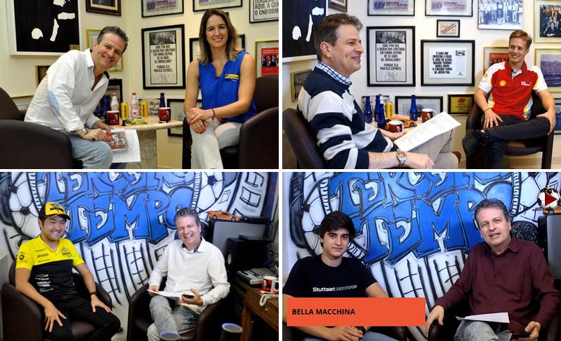 Bia Figueiredo, Gianluca Petecof, Rafael Suzuki e Caio Collet foram alguns dos convidados do programa