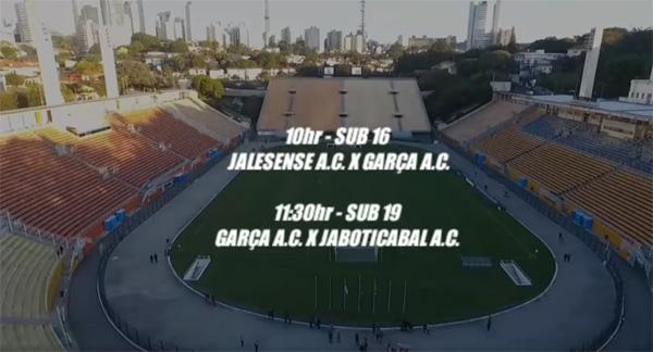 Sub-16 e Sub-19 estarão no gramado do Paulo Machado de Carvalho. Foto: Reprodução