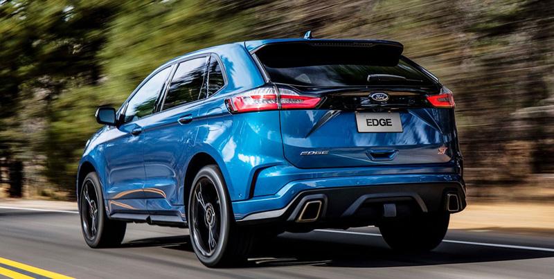 """Modelo importado do Canadá se notabiliza por ser um SUV de """"pegada"""" esportiva. Foto: Divulgação/Ford"""