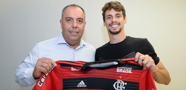Rodrigo Caio acertou a sua transferência para o Flamengo no último sábado