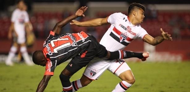João Paulo tinha contrato com o São Paulo até fevereiro de 2019