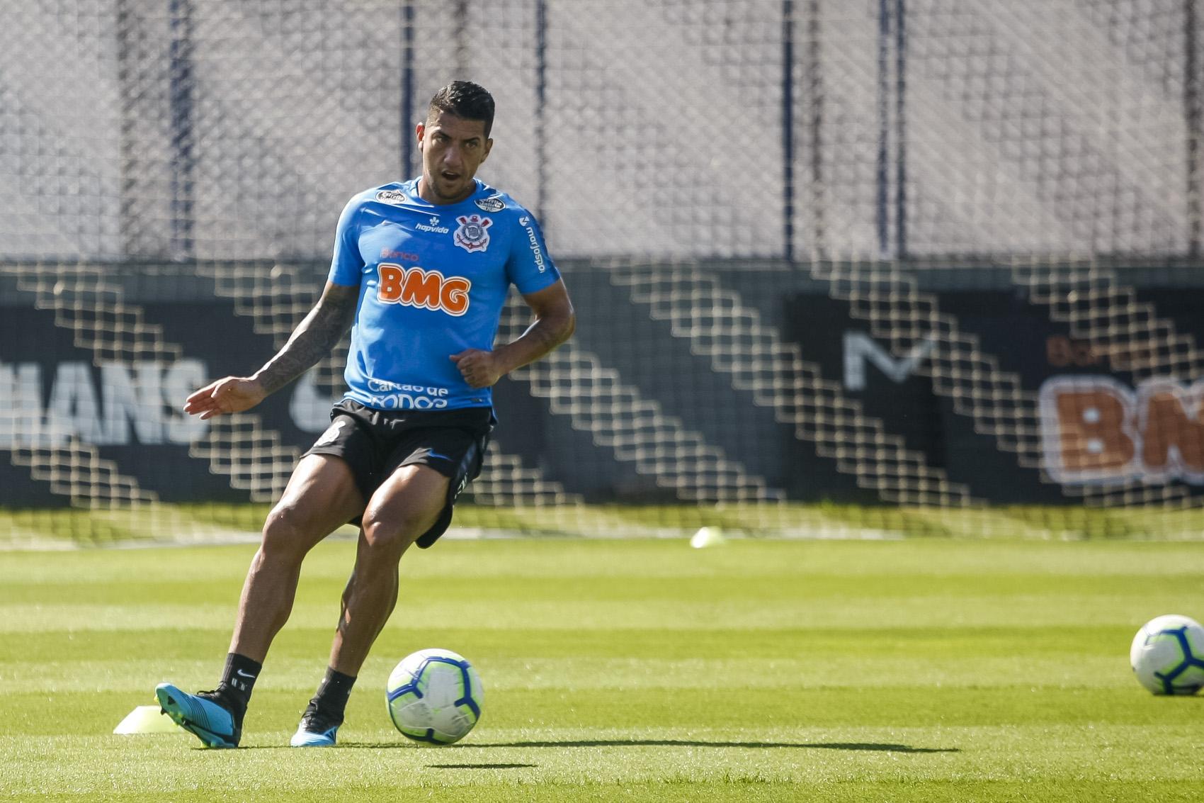 Equipe treina nesta sexta-feira em São Paulo. Foto: Foto: Rodrigo Gazzanel / Agência Corinthians