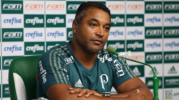 Roger nos tempos de Palmeiras. Foto: Cesar Greco/Ag Palmeiras