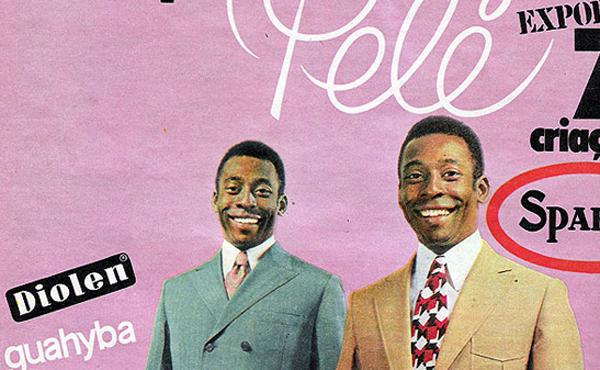 Não é novidade a presença de atletas na publicidade, como Pelé na década de 70 como elegante garoto-propaganda das roupas Ducal