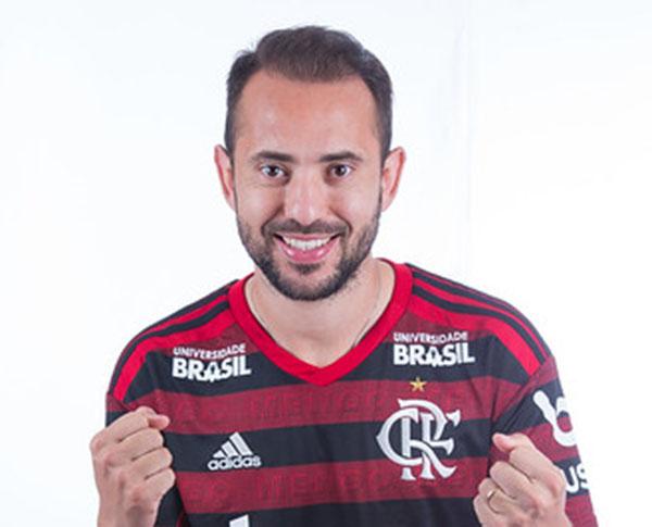 Everton Ribeiro se recuperou de lesão. Foto: Alexandre Vidal & Marcelo Cortes / Flamengo